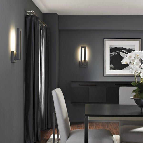 Forq Indoor/Outdoor LED Wall Sconce