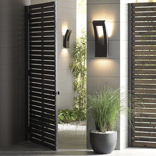 Dawn Indoor/Outdoor LED Wall Sconce