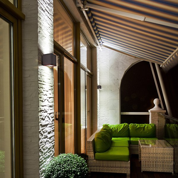 Rubix Outdoor LED Up and Down Wall Sconce