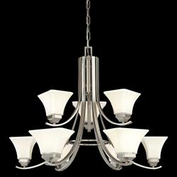 Agilis 2-Tier Chandelier - OPEN BOX RETURN