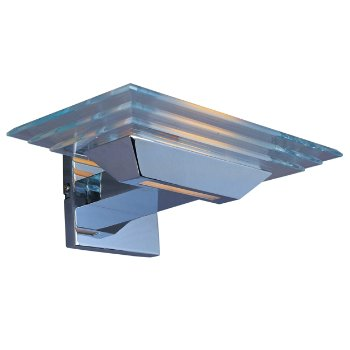 Strato Wall Sconce With Pyramid Glass - OPEN BOX RETURN