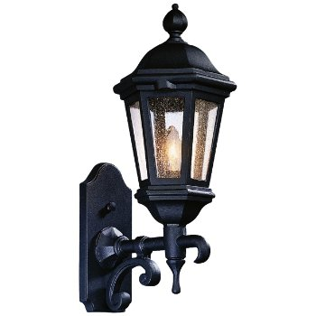 Verona Outdoor Wall Sconce No. 6830 (Matte Black) - OPEN BOX RETURN