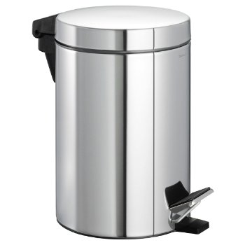 NEXIO Pedal Bin (Polished Stainless Steel) - OPEN BOX RETURN
