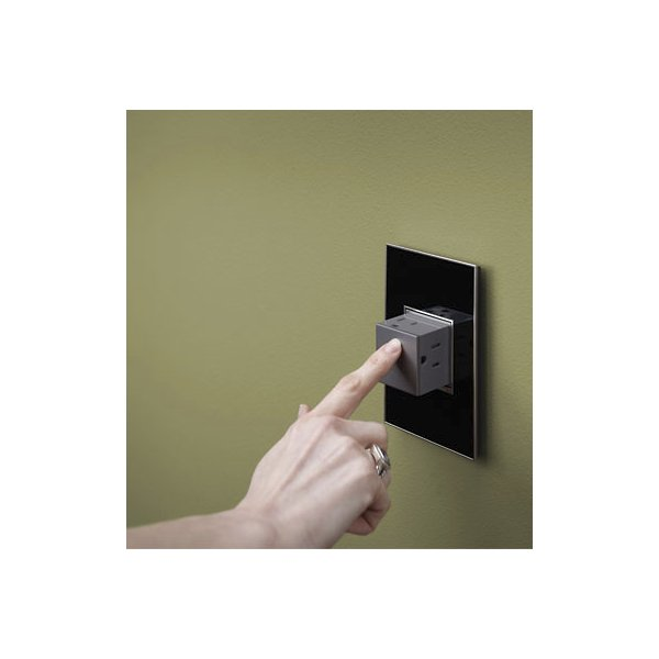 Pop-Out Outlet 2-Gang