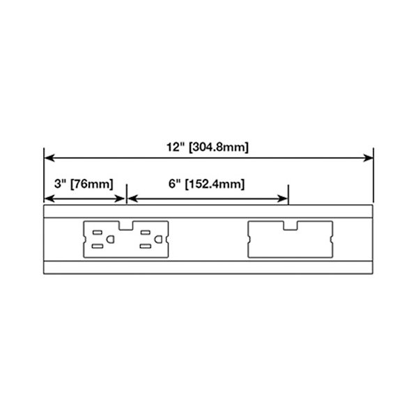 12 Inch Modular Track