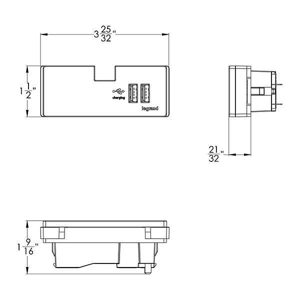 USB Outlet Module
