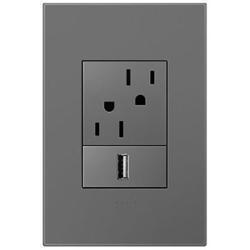 3-Module Wall Plate (Bright & Neutral Tone Plastic)