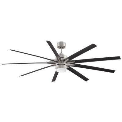Large ceiling fans big fans great room ceiling fans at lumens odyn led indooroutdoor ceiling fan aloadofball Gallery