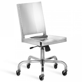 Shown in Polished Aluminum finish
