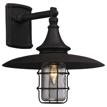 Allegheny Outdoor Wall Sconce (Historic Clear/Centennial Rust/Medium) - OPEN BOX RETURN