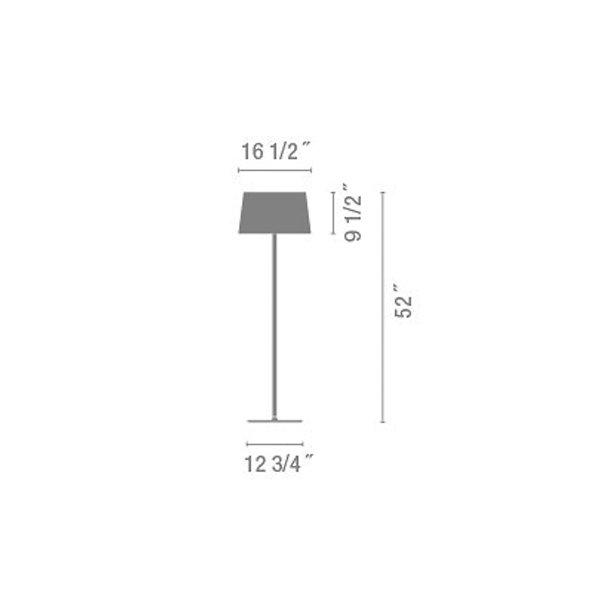 Warm Screen Shade Floor Lamp