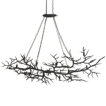 Rainforest Chandelier (Rustic Bronze) - OPEN BOX RETURN