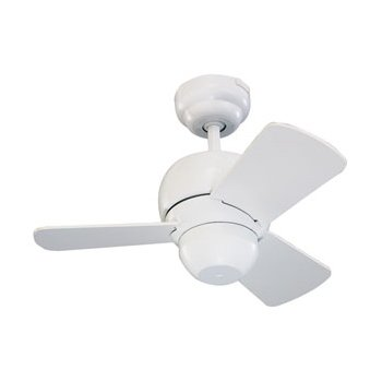 Micro 24 Ceiling Fan (White) - OPEN BOX RETURN