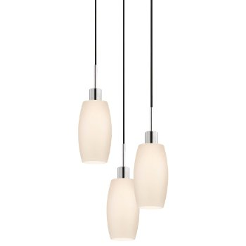 Glass Pendants - Barrel Multi-Light