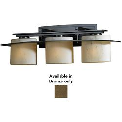 Arc Ellipse Bath Bar (Stone/Bronze/Incandescent/3 Lights) - OPEN BOX RETURN