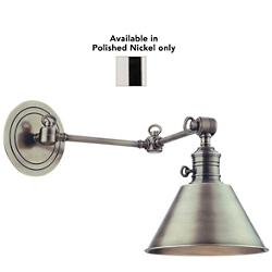 Garden City Double-Arm Wall Sconce (Polished/Sm) - OPEN BOX