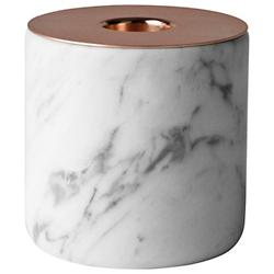 Chunk of Marble Candleholder