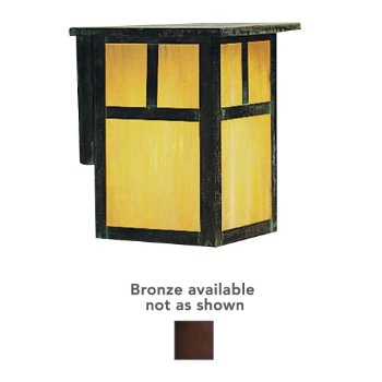 Mission Outdoor Wall Sconce (Bronze/Small) - OPEN BOX RETURN