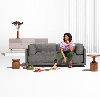 Turn Tall Side Table By Blu Dot At Lumens Com