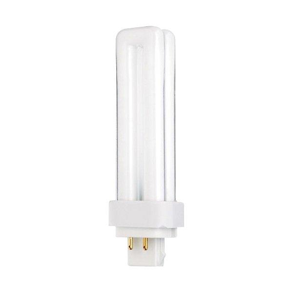 13W 120V T4 G24q-1 Quad Tube CFL 4100K Bulb