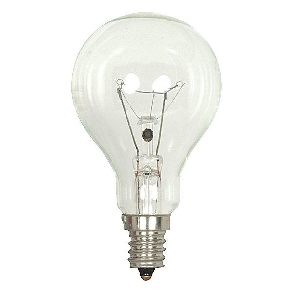 40W 130V A15 E12 Clear Bulb