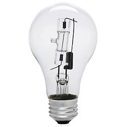 72W 120V A19 E26 Clear Halogen Bulb (2-PACK)