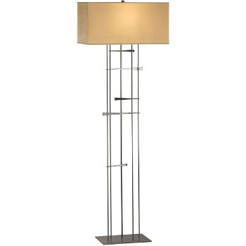 Shown in Burnished Steel finish,Doeskin micro-suede shade