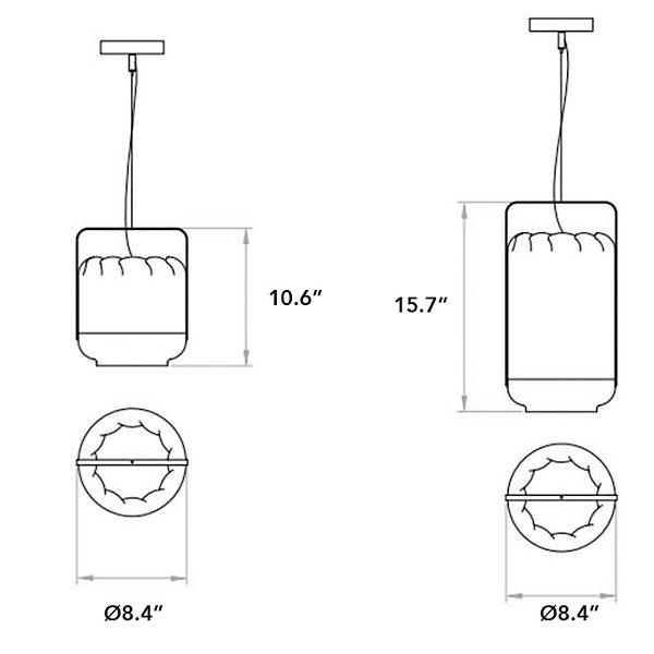 Chou Small Pendant