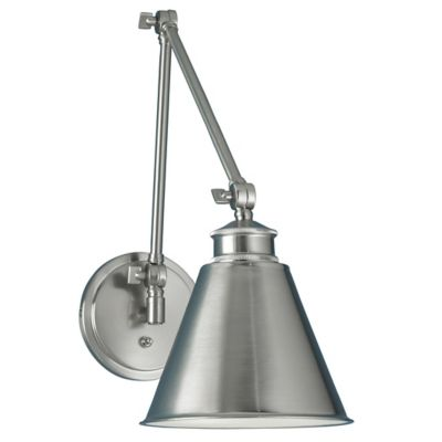 Aidan Swing Arm Wall Sconce by Norwell Lighting at Lumens.com