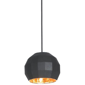 Shown in Black with Gold Inner shade, Small size