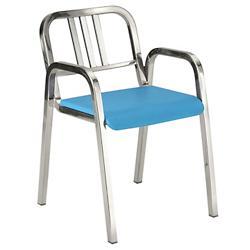 Nine-0 Stacking Armchair - 3-Bar Back