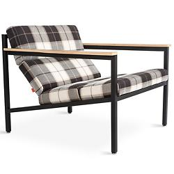 Halifax Chair (Tartan Shadow and Black) - OPEN BOX RETURN
