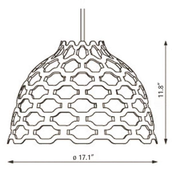 LC Shutters Pendant