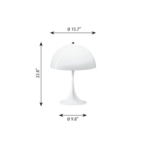 Panthella Table Lamp