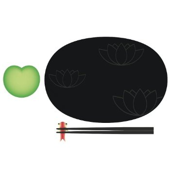 Lily Pond Sushi Set by Alessi - OPEN BOX RETURN