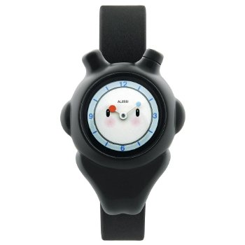 Space Bimba Watch by Alessi (Black) - OPEN BOX RETURN
