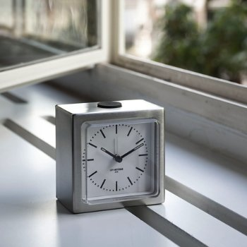 Shown in Stainless Steel with White finish, in use