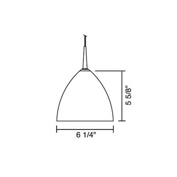 Cleo Line Voltage Pendant
