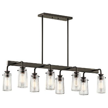 Shown in Olde Bronze finish, 8 Light