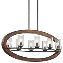 Grand Bank Linear Chandelier