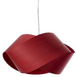 Nut Pendant (Red/E26 Bulb) - OPEN BOX RETURN