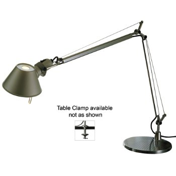 Tolomeo Mini Table Lamp - Incandescent (Table Clamp/Aluminum) - OPEN BOX RETURN