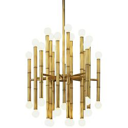 Meurice 30-Light Chandelier (Modern Brass) - OPEN BOX RETURN