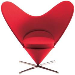 Miniature Heart-Shaped Cone Chair