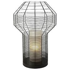Mesh Black Table Lamp