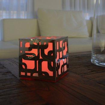 Kalis Mood LED Cube, in use