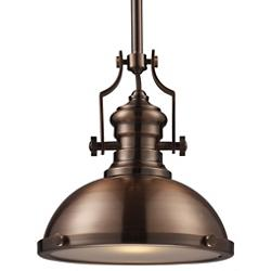 Chadwick Pendant with Metal Shade (Antique Copper) - OPEN BOX RETURN