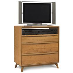 Catalina 3 Drawer Dresser and TV Organizer