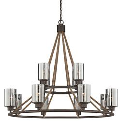 Maverick 2-Tier Chandelier