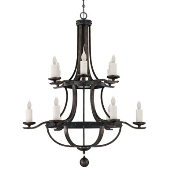 Alsace 2-Tier Chandelier